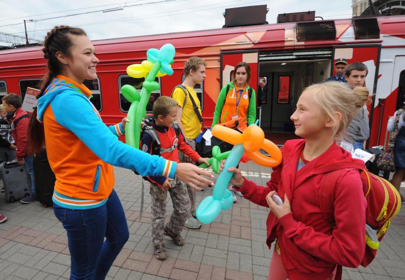 Запись детей в проект «Московская смена» открывается 25 мая. Фото: Александр Кожохин, «Вечерняя Москва»