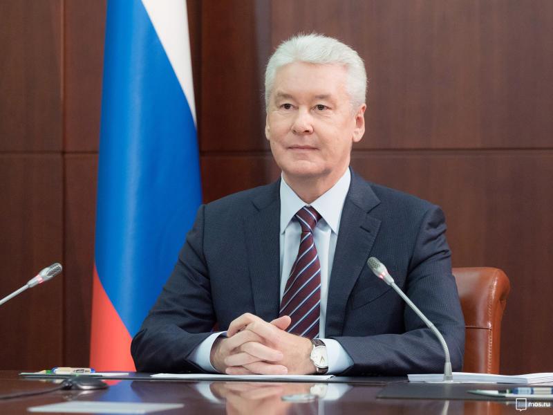 Сергей Собянин отвечает на вопросы москвичей в прямом эфире