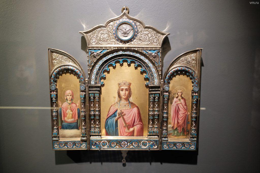 Православное искусство: онлайн-экскурсию по выставке проведет Музей Андрея Рублева