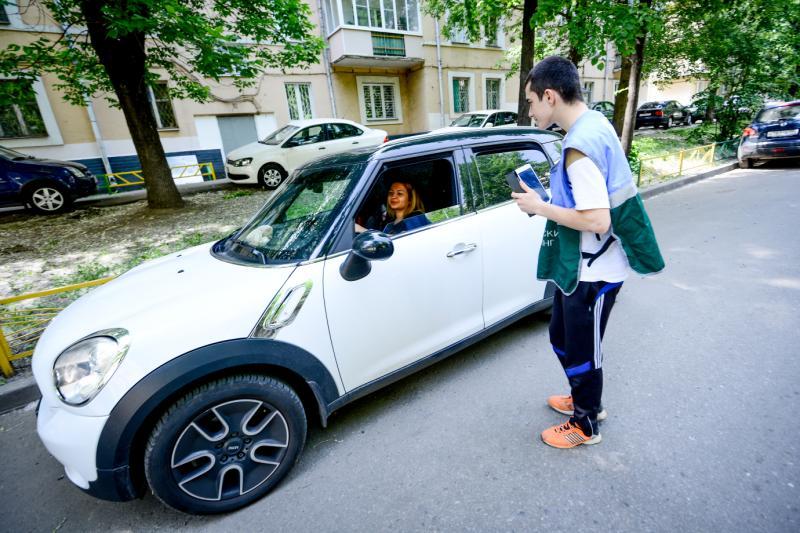 Две парковки появились в Тверском районе. Фото: архив, «Вечерняя Москва»