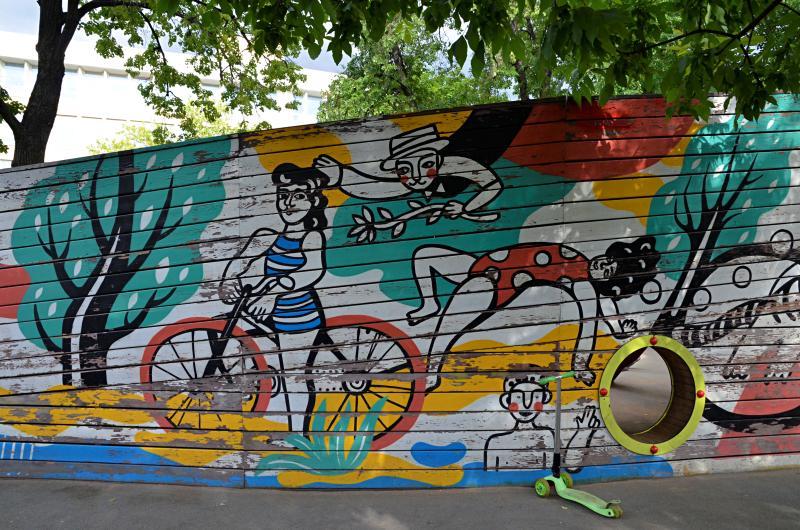 Стрит-арт-художники расскажут о зарождении уличного искусства
