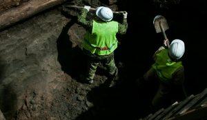 Археологи нашли еще одну воровскую монетку в Басманном районе. Фото: официальный сайт мэра Москвы