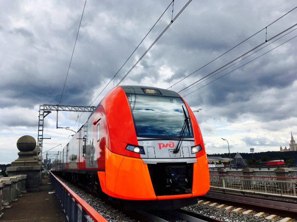 Ежедневный пассажиропоток «Ласточек» между Москвой и Зеленоградом превысил 28 тысяч человек