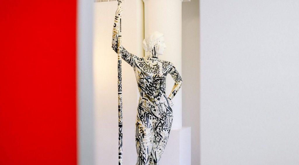 Парк Горького получил «Девушку с веслом», распечатанную на 3D-принтере