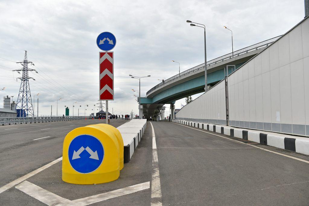 Первый этап развязки дублера Кутузовского проспекта и ТТК завершится в декабре 2019 года