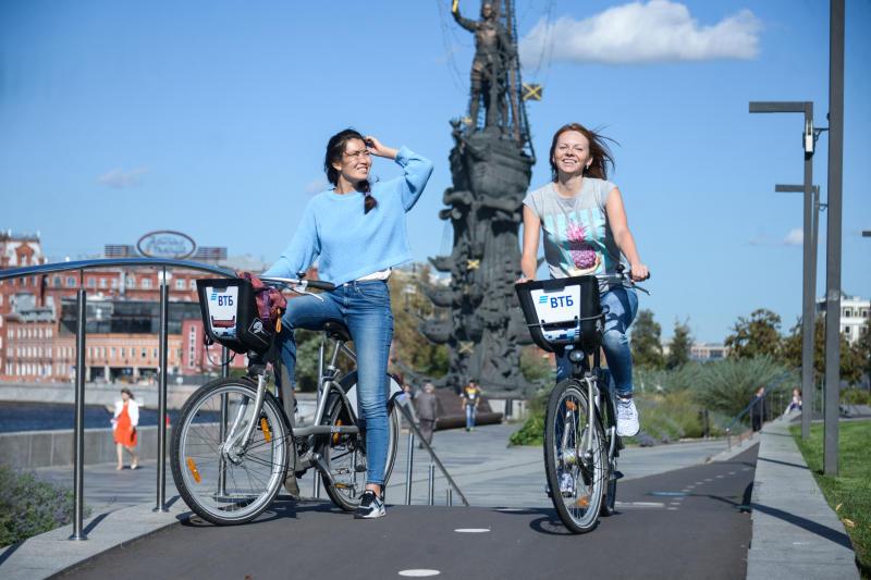 Осенний велопарад пройдет в Москве в рамках недели Европейской мобильности