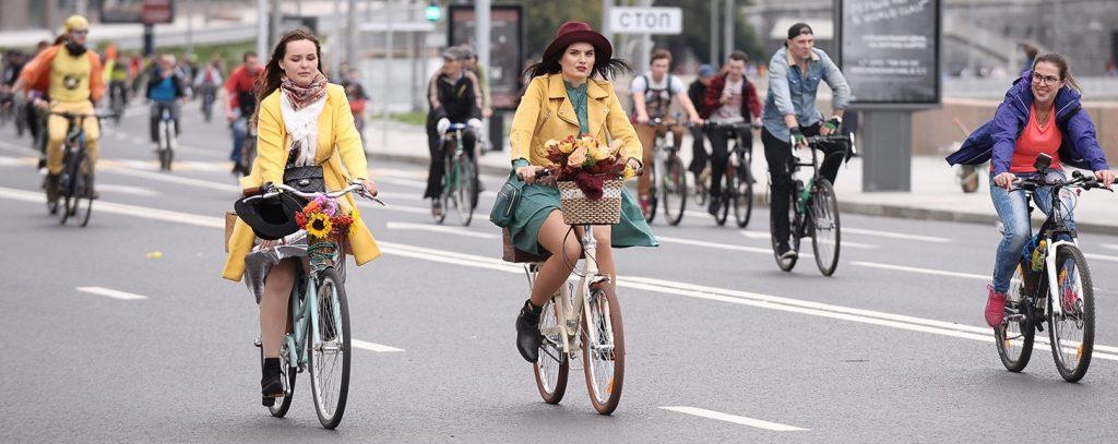 Улицу Хамовнический Вал перекроют из-за осеннего велопарада