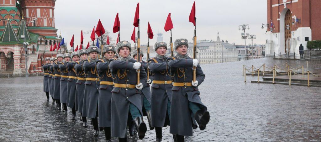 Годовщину военного парада 1941 года отметят на Красной площади