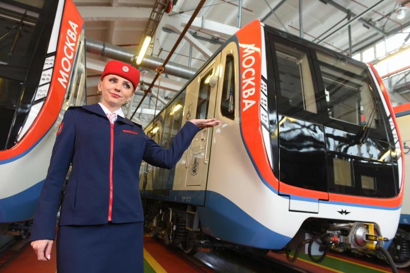 Столичное метро получит почти 600 вагонов «Москва»