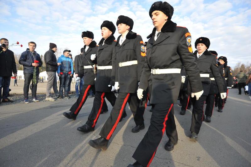 Кадеты из Таганского района поучаствуют в марше на Красной площади. Фото: архив, «Вечерняя Москва»