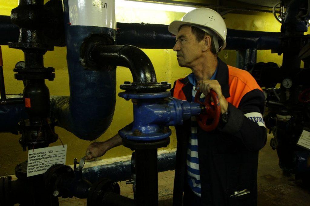 Ремонт систем водоснабжения дома завершили в районе Якиманка