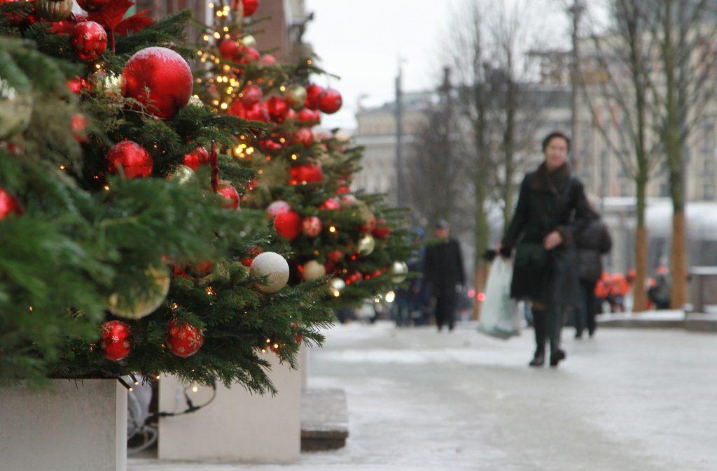 Москвичей ожидает снежная суббота
