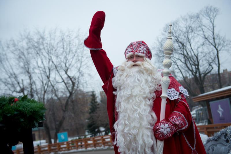 Дед Мороз приедет в Московский зоопарк