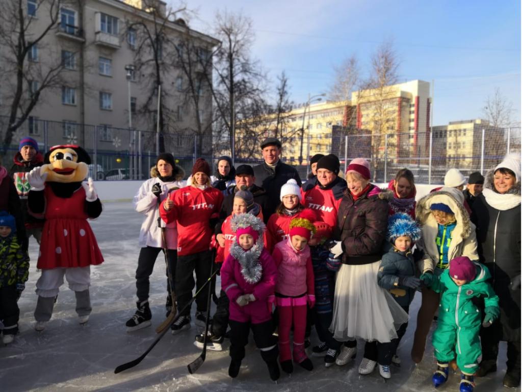 В городе откроют более 200 катков с искусственным покрытием. Фото: Ирина Ковган