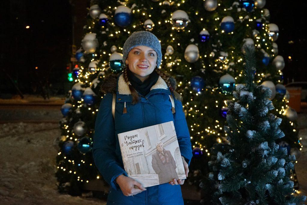 Победителю ноябрьского этапа конкурса «Москва.Дети» вручили приз