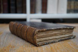 Дневник XIX века, в котором нашли письмо Ивана Тургенева. Фото: Михаил Прядко