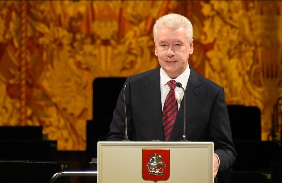 Сергей Собянин поблагодарил волонтеров за службу Москве