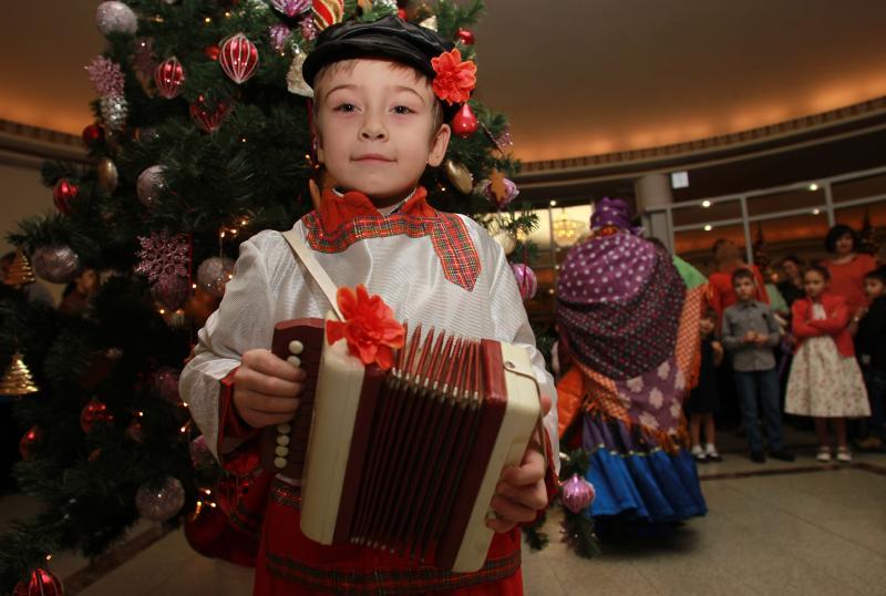 Дети вспомнят рождественские песни в музее Алексея Бахрушина