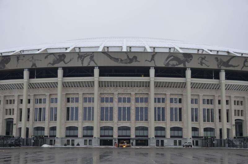 Стадион «Лужники» признан лучшим в мире по видимости поля с трибун. Фото: Анна Быкова