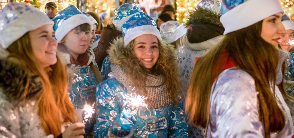 Москвичей пригласили отпраздновать Новый год в столичных парках