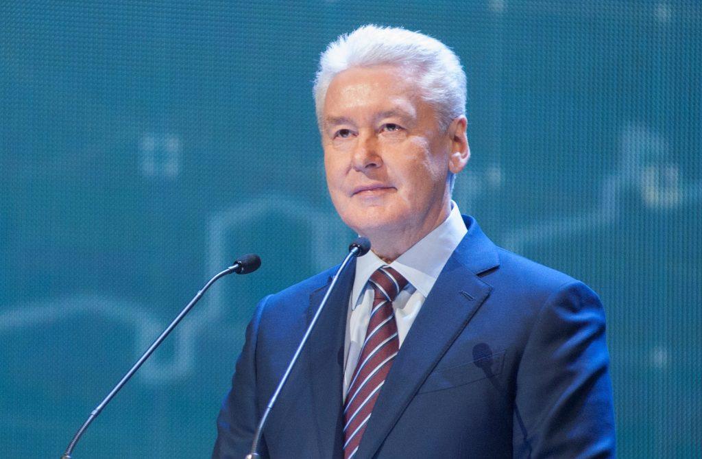 Сергей Собянин запустил новую платформу «Карачарово» возле МЦК
