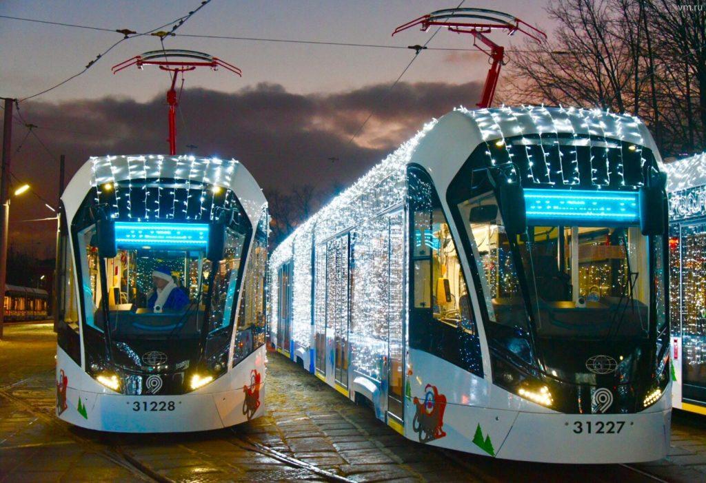Режим работы московского транспорта продлят в Рождество