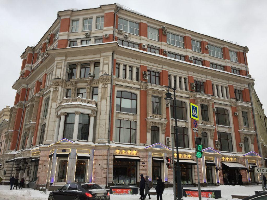 Место, где снимали «Cлужебный роман»: история бывшего доходного дома Хомякова