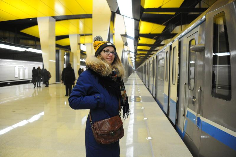 Станция метро «Площадь революции» стала самой популярной у пассажиров 1 января