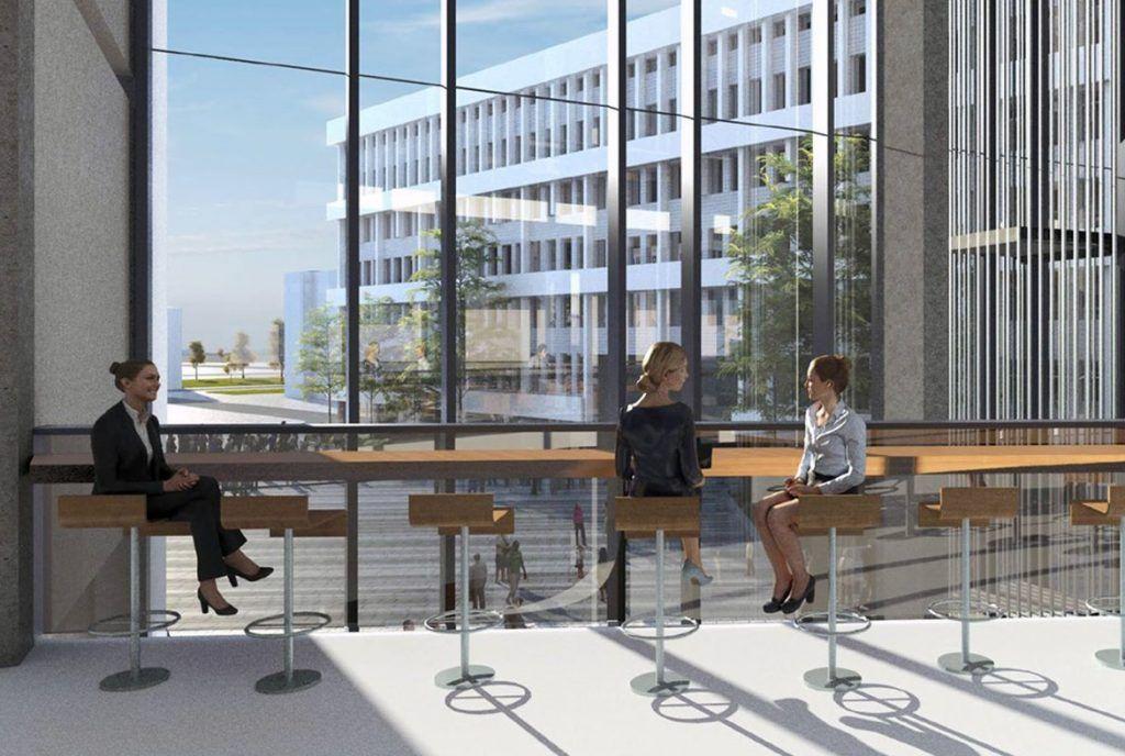 Проектное решение нового корпуса университета имени Плеханова. Фото: сайт мэра Москвы