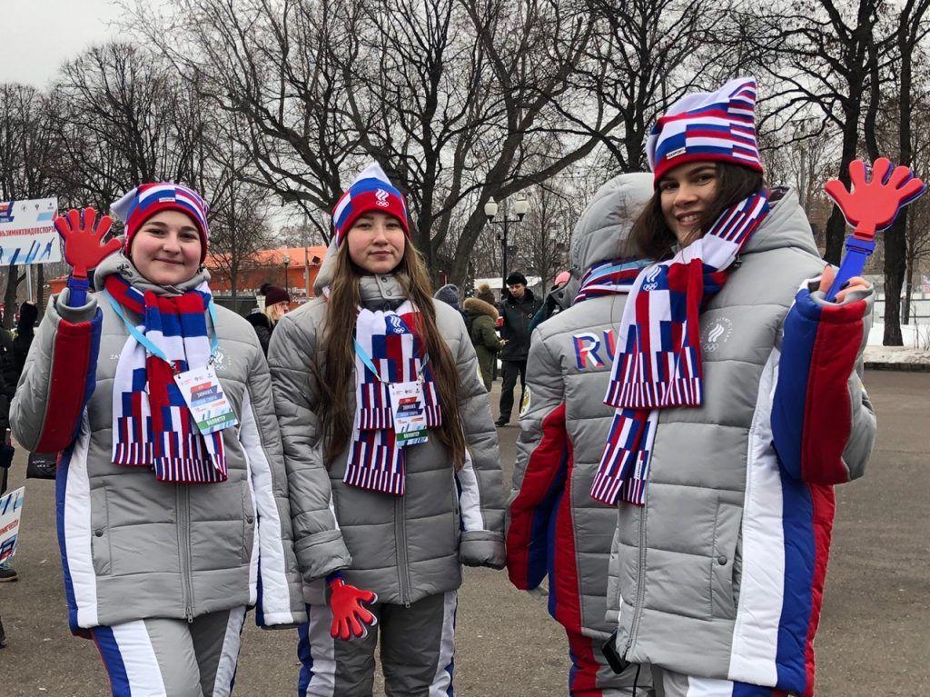 Фигурное катание и керлинг: День зимних видов спорта прошел в Парке Горького