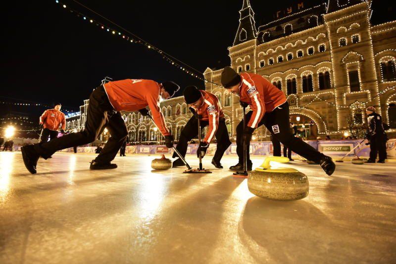 Жителей Москвы пригласили на турнир по керлингу