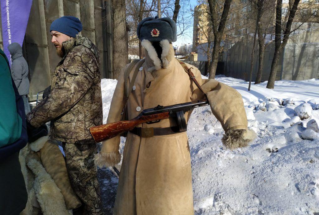 Зимнее обмундирование советского солдата. Фото: Антон Демидов