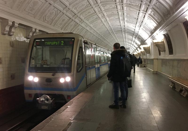 Новый тематический поезд запустили на Кольцевой линии метро