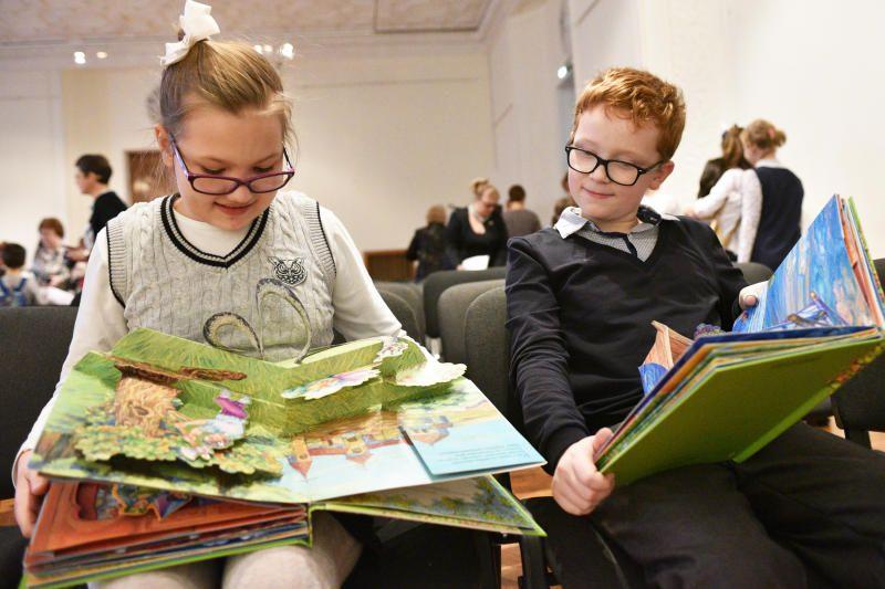 Юным жителям столицы расскажут о значении книг в библиотеке имени Аркадия Гайдара
