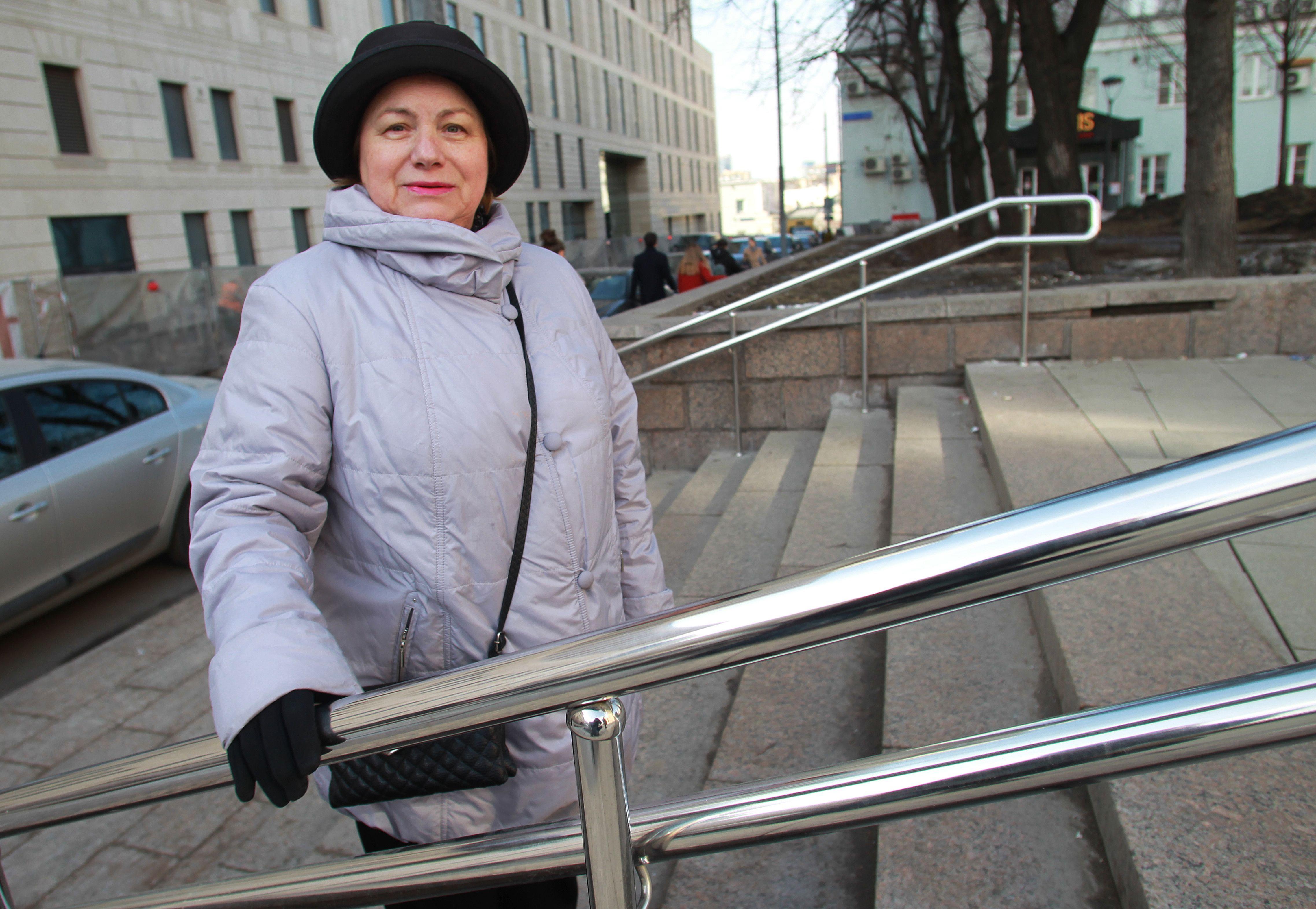 На фото Жительница района Арбат Наталья Болятко. Фото: Наталия Нечаева, «Вечерняя Москва»