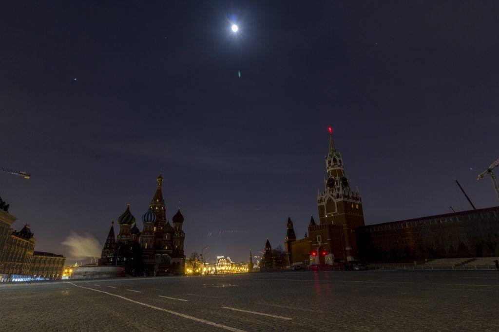 Подсветка Кремля и парка «Зарядье» отключится в «Час Земли»