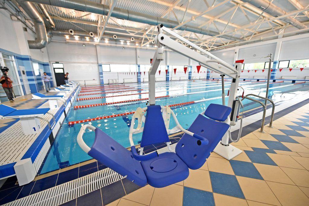 Москва получит комплекс с четырьмя бассейнами через год
