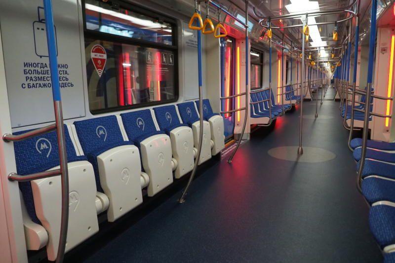Два новых поезда начали курсировать на Сокольнической линии метро