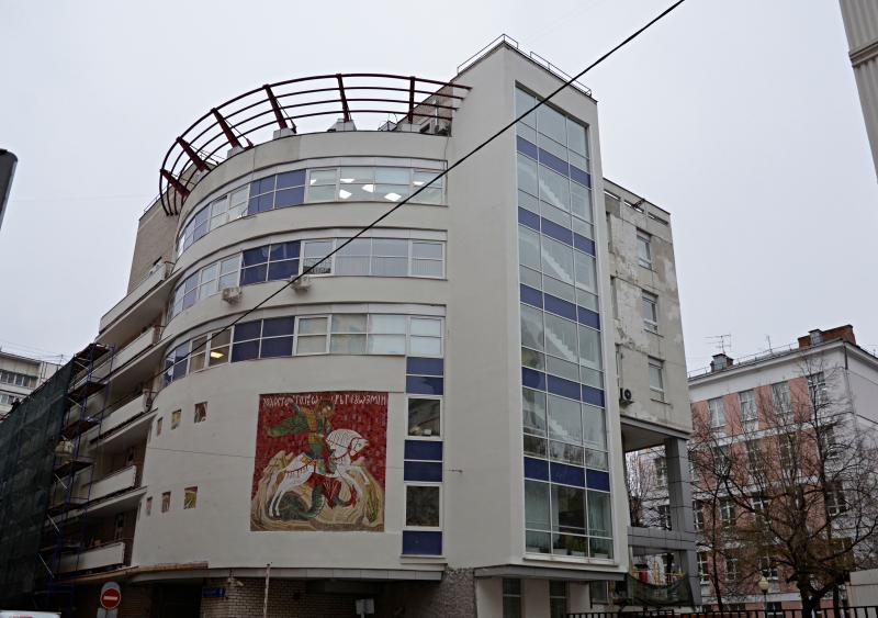 Здание ТЦСО «Мещанский», в котором занимаются актеры-любители. Фото: Анна Быкова
