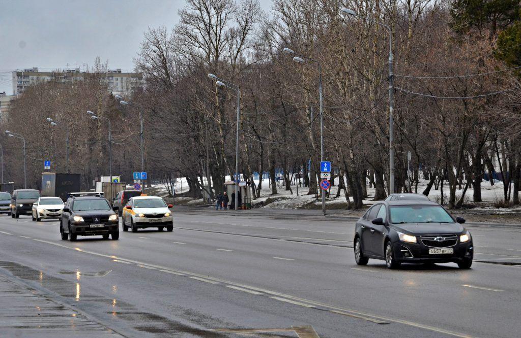 В Москве реконструируют транспортную развязку МКАД с Липецкой улицей