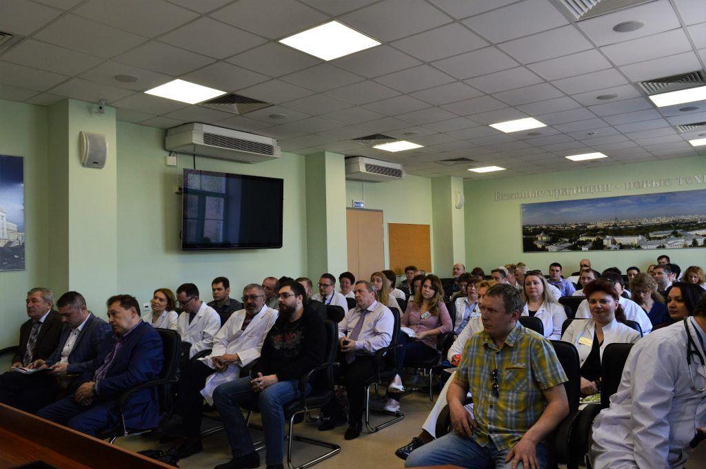 В «Городской клинической больнице №1 им.Н.И.Пирогова»  было проведено комплексное учение