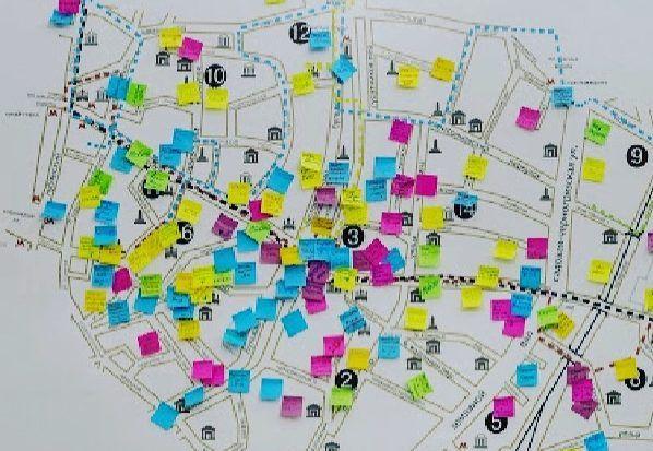 Народная карта. Фото предоставили в «Музее Басманного района»