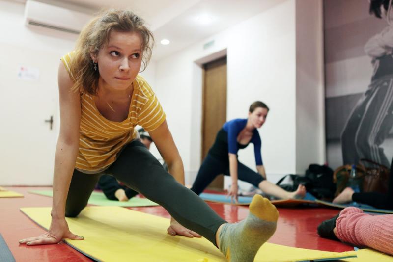 Чемпионка мира по эстетической гимнастике проведет мастер-класс в Саду имени Баумана