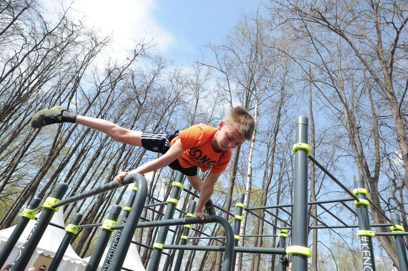 Спортивные игры для детей устроят на территории «Лужников». Фото: Пелагия Замятина, «Вечерняя Москва»