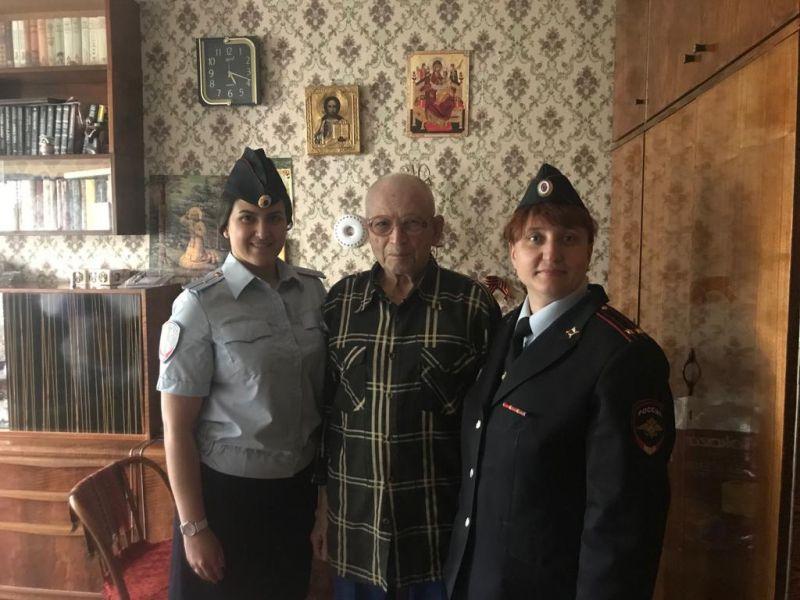 Ветерана Николая Жабицкого поздравили с наступающим Днем Победы