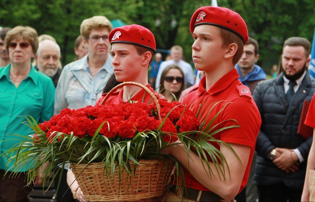День Победы отметили общей песней