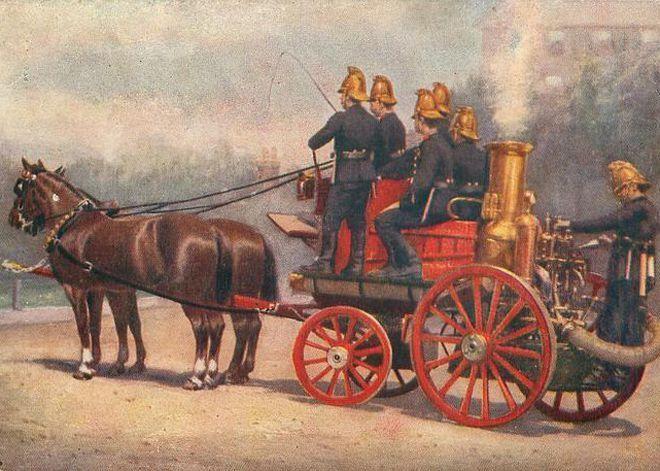 Интересные факты о пожарной охране