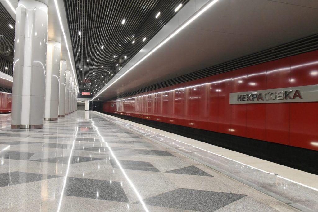 Метро Москвы уведомит пассажиров о запуске розовой линии