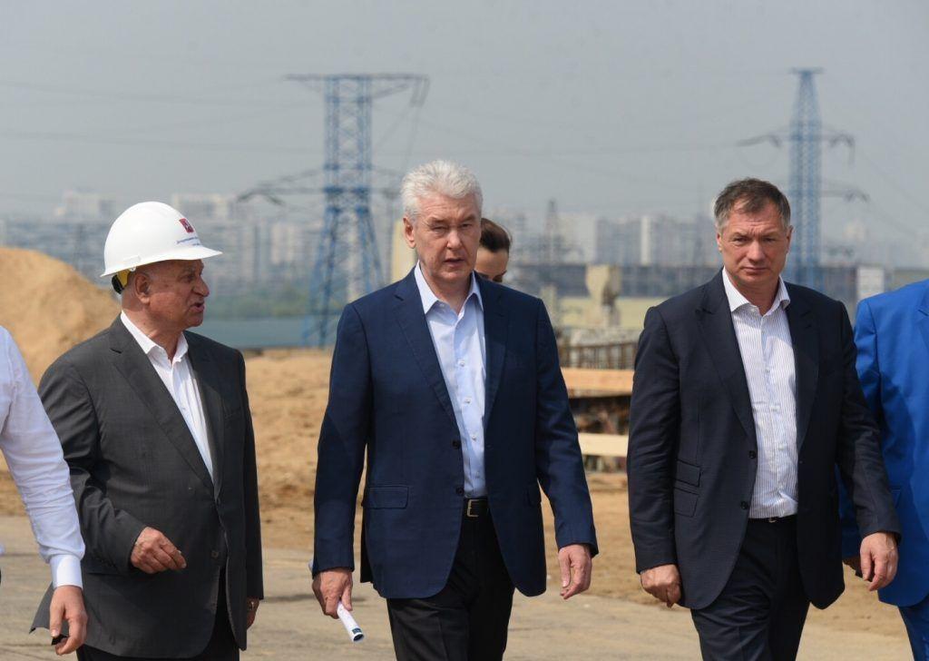 Сергей Собянин призвал сдать развязку МКАД с Бесединским шоссе на год раньше