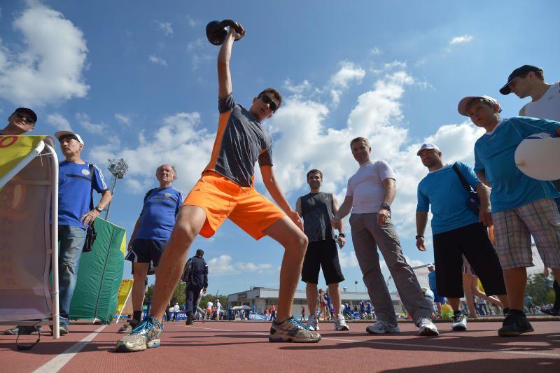 Спортивные нормативы можно будет сдать в комплексе «На Таганке». Фото: Александр Казаков, «Вечерняя Москва»